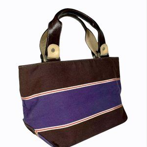 Kate Spade NY Vintage Striped Canvas Tote Bag